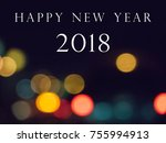 happy new year 2016 written...   Shutterstock . vector #755994913