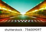 night speedy motion blur...   Shutterstock . vector #756009097