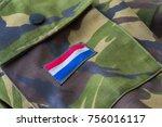 royal netherlands army dutch... | Shutterstock . vector #756016117