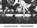 new year celebration party in... | Shutterstock . vector #756026983