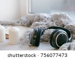 soft photo christmas music....   Shutterstock . vector #756077473