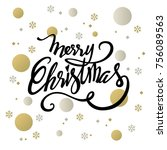 Merry Christmas Text Design....