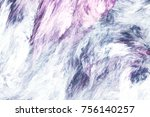 Abstract Pink And Grey Marble...