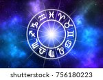 astrological zodiac signs... | Shutterstock . vector #756180223