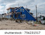 sea girt  nj usa    november 14 ... | Shutterstock . vector #756231517