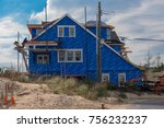 sea girt  nj usa    november 14 ... | Shutterstock . vector #756232237
