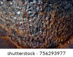 rusty metal texture  | Shutterstock . vector #756293977