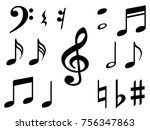 Music Note Icons Vector Set ...