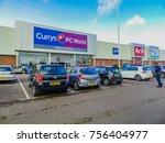 shirley  west midland  england  ... | Shutterstock . vector #756404977