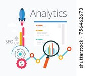 analytics infographic of seo ...