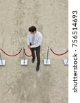 man business life | Shutterstock . vector #756514693