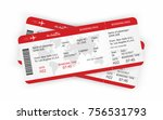 airplane tickets. boarding pass ... | Shutterstock .eps vector #756531793