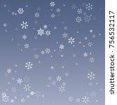 vector illustration of a winter ... | Shutterstock .eps vector #756532117