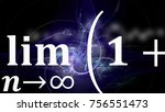 math equations and formulas in... | Shutterstock . vector #756551473