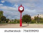 bloomington  in usa   october... | Shutterstock . vector #756559093