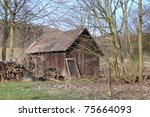 an abandoned old house | Shutterstock . vector #75664093