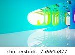 abstract white and colored...   Shutterstock . vector #756645877