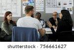 startup business team... | Shutterstock . vector #756661627