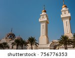 king abdullah grand mosque king ... | Shutterstock . vector #756776353