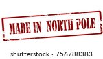 rubber stamp with text made in... | Shutterstock .eps vector #756788383