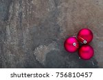 Three Christmas Baubles