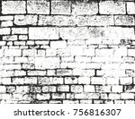distressed overlay texture of... | Shutterstock .eps vector #756816307