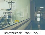 department of the hospital and... | Shutterstock . vector #756822223