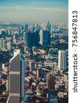 modern architecture  business... | Shutterstock . vector #756847813