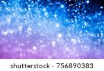 fantasy abstract background in... | Shutterstock . vector #756890383