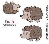 vector illustration of kids... | Shutterstock .eps vector #756901057