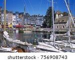 Honfleur  Normandy  France....