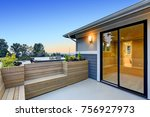 chic master deck with custom... | Shutterstock . vector #756927973