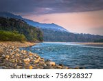 shores of the madre de dios... | Shutterstock . vector #756928327