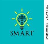 smart logo design | Shutterstock .eps vector #756956167