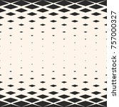 vector geometric seamless... | Shutterstock .eps vector #757000327