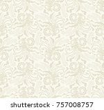seamless light background with... | Shutterstock .eps vector #757008757