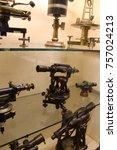 vintage microscope photo | Shutterstock . vector #757024213