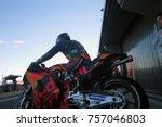 valencia   spain  november 11 ... | Shutterstock . vector #757046803