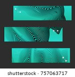 minimal banner templates with... | Shutterstock .eps vector #757063717