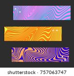 minimal banner templates with... | Shutterstock .eps vector #757063747