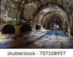 Small photo of SELIM PASS, ARMENIA - 02 AUGUST 2017: Inside the Gorgeous Selim Caravanserai of Amenia