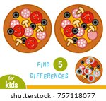find differences  education...   Shutterstock .eps vector #757118077
