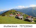 garester plateau  uzun gol ... | Shutterstock . vector #757120363