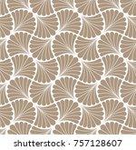 elegant vector floral art... | Shutterstock .eps vector #757128607