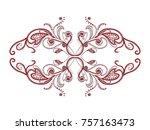 vector background vintage...   Shutterstock .eps vector #757163473