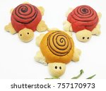 animal dolls made of bread | Shutterstock . vector #757170973