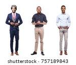 group of people | Shutterstock . vector #757189843