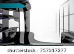 abstract dynamic interior with...   Shutterstock . vector #757217377
