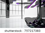 abstract dynamic interior with...   Shutterstock . vector #757217383