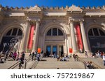 usa. new york. manhattan.... | Shutterstock . vector #757219867